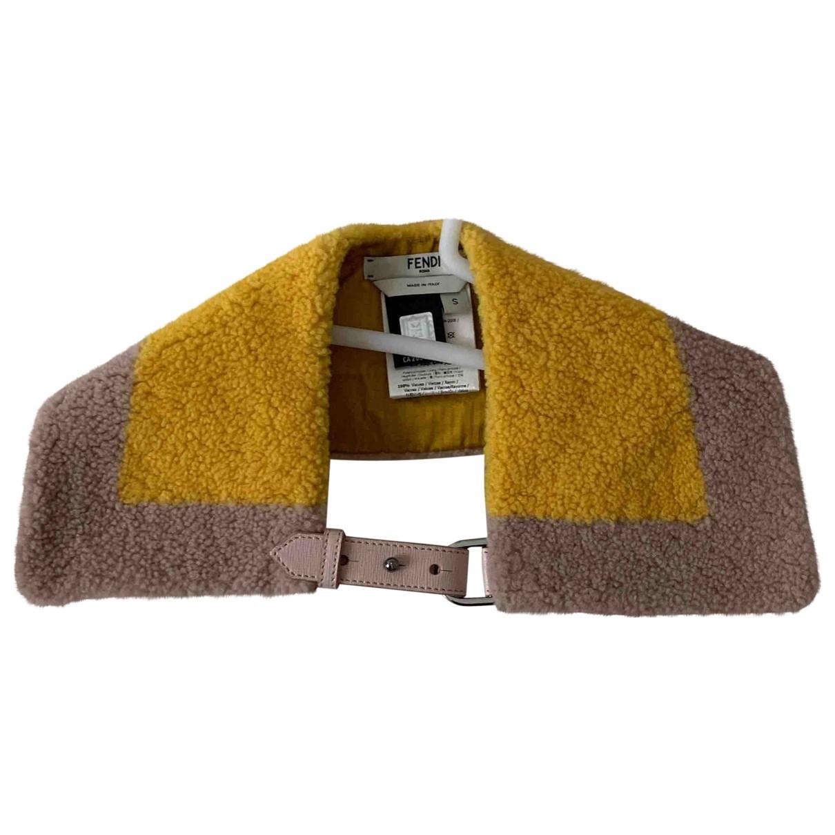 Fendi \N Yellow scarf for Women \N
