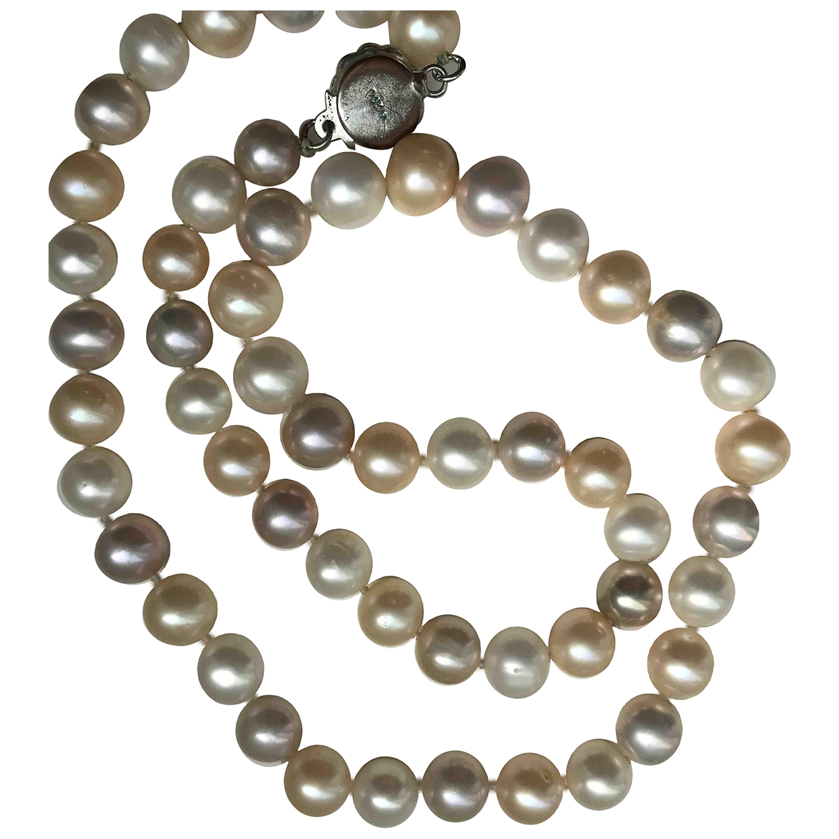 Non Signé / Unsigned \N Multicolour Pearls Long necklace for Women \N