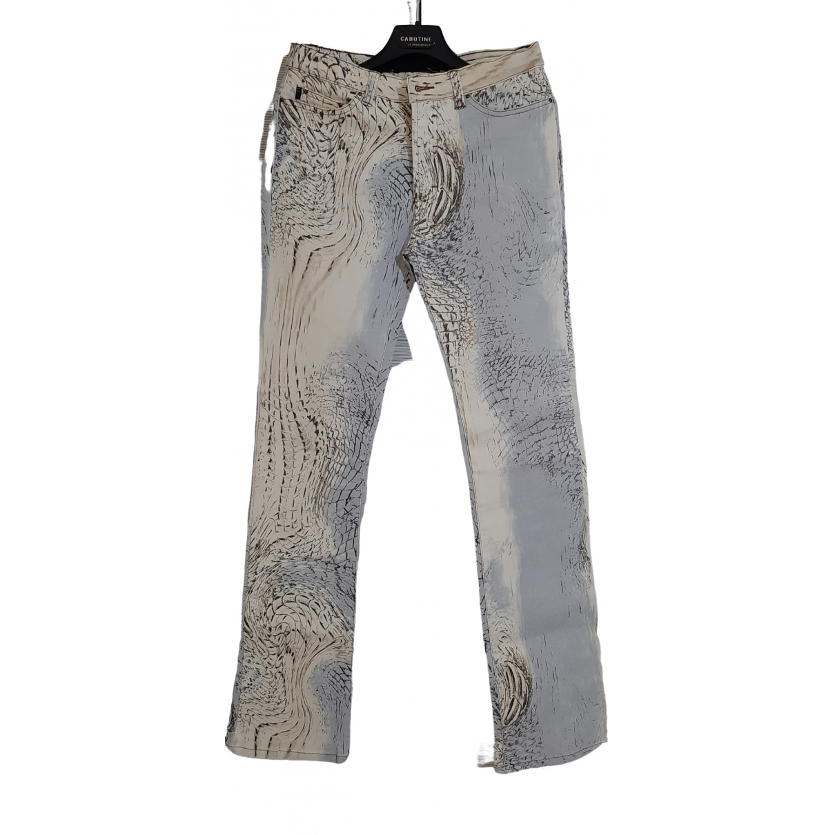 Just Cavalli \N Cotton - elasthane Jeans for Women 44 FR