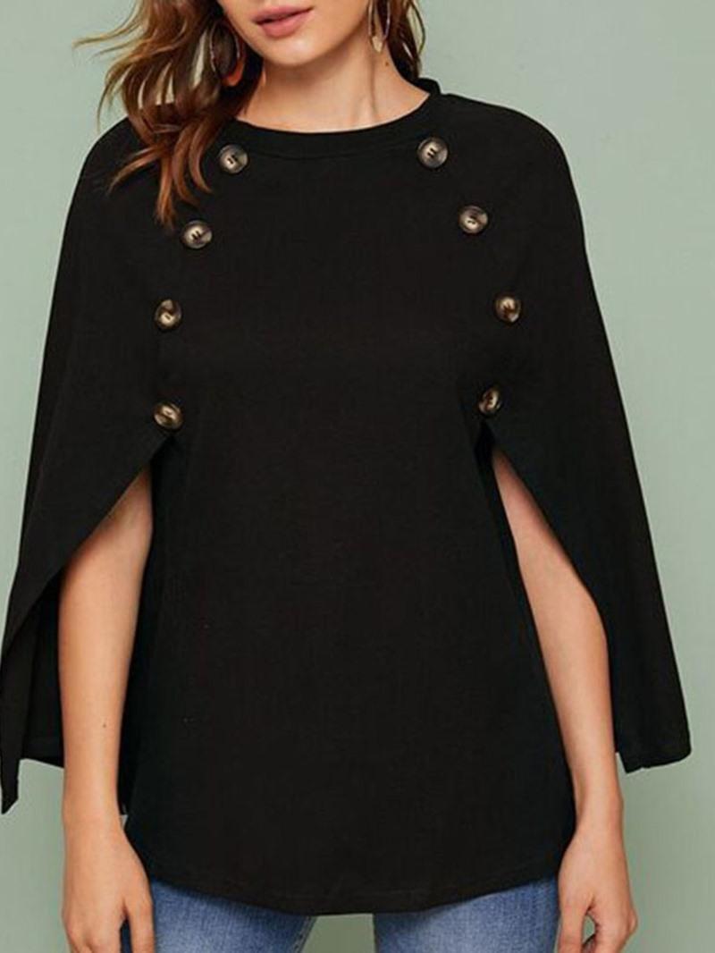 Ericdress Regular Plain Mid-Length Fall Women's Sweater