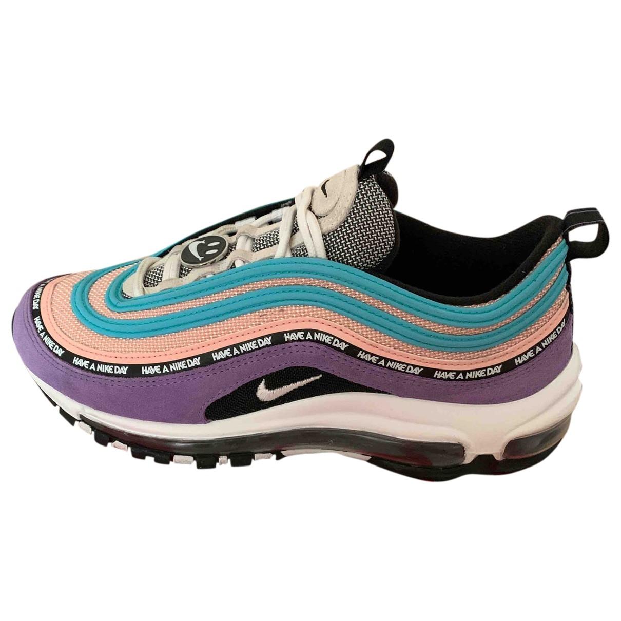 Nike Air Max 97 Sneakers in  Rosa Leinen