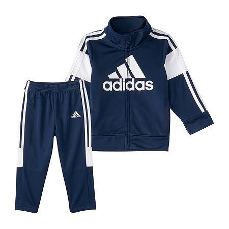 adidas Toddler Boys 2-pc. Pant Set, 3t , Blue