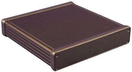 Hammond 1455, Black Aluminium Enclosure, 160 x 165 x 30.5mm