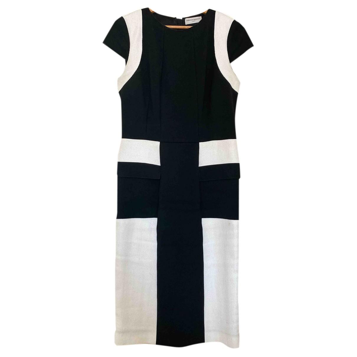 Amanda Wakeley \N Kleid in  Bunt Viskose