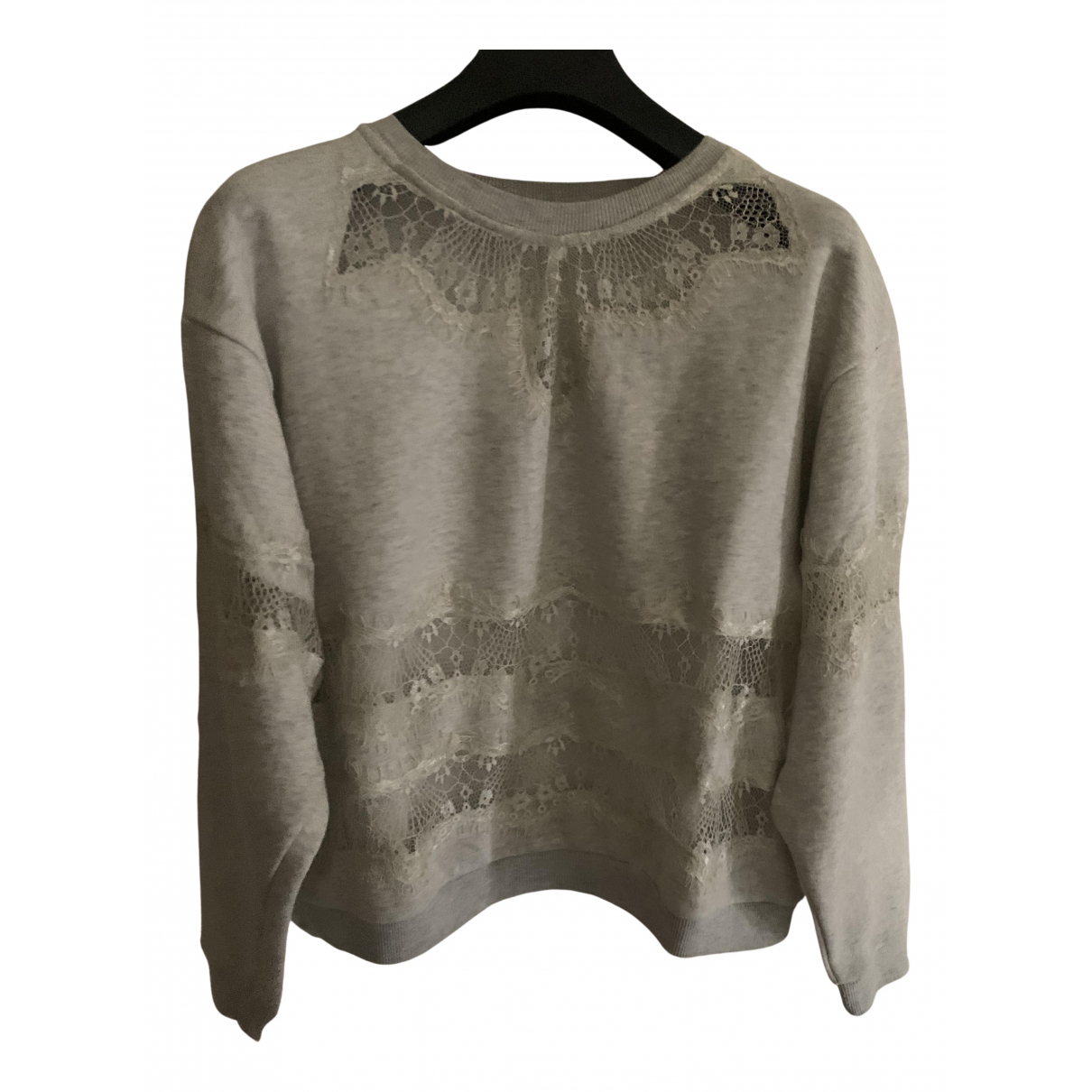 Brigitte Bardot N Ecru Cotton Knitwear for Women 40 IT