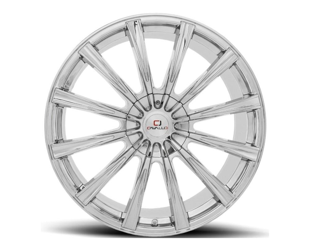Cavallo CLV-23 Wheel 18x8 5x108|5x114.3 35mm Chrome