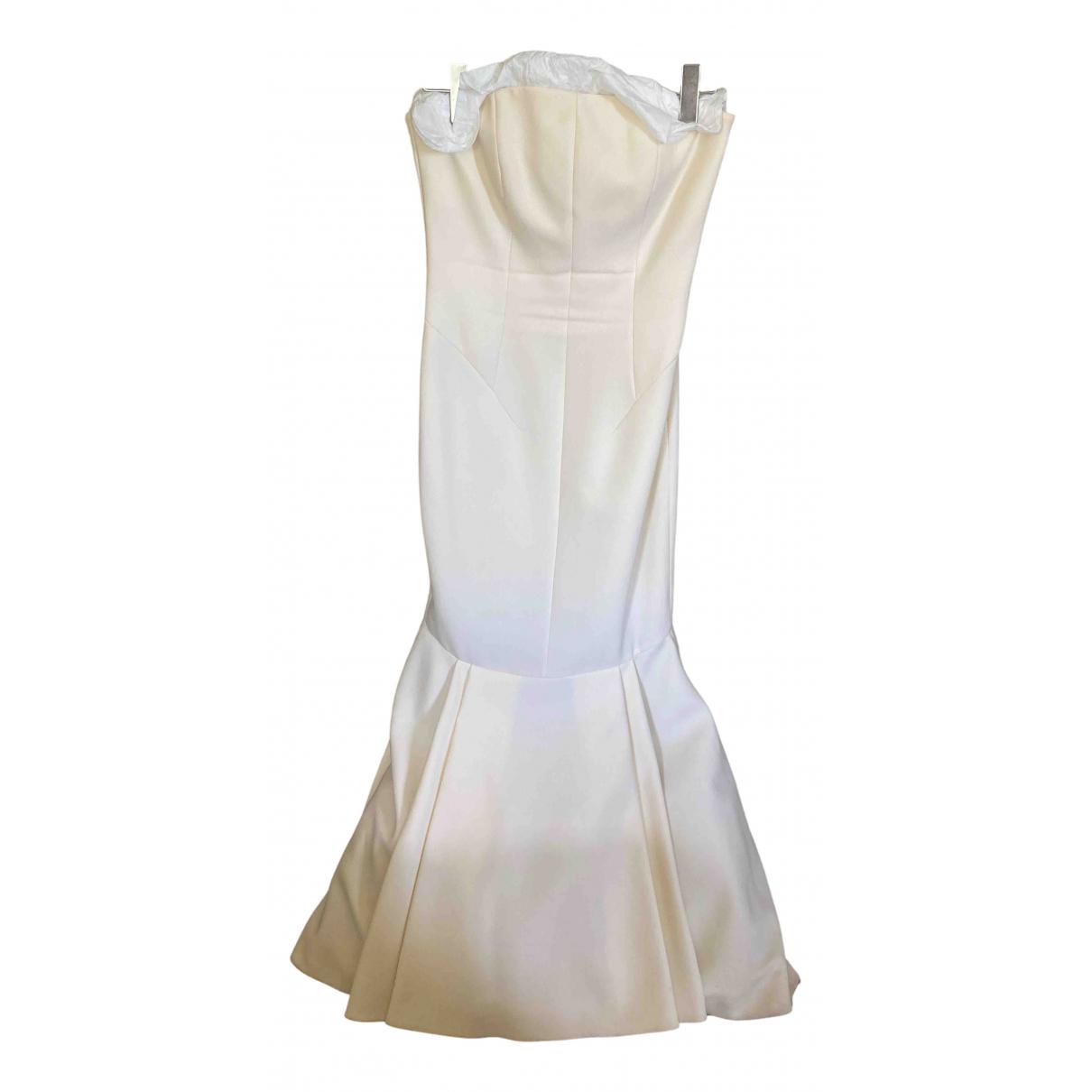 La Mania \N Kleid in  Ecru Wolle