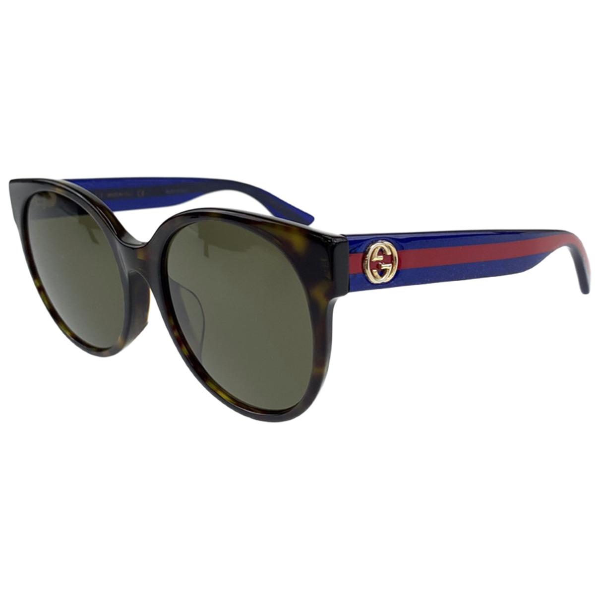 Gucci \N Sonnenbrillen in  Bunt Kunststoff