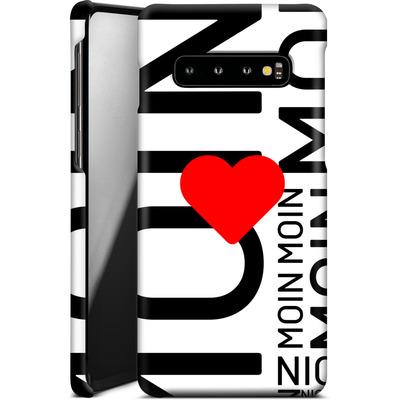 Samsung Galaxy S10 Smartphone Huelle - Moin Moin von caseable Designs