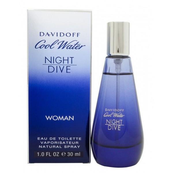 Cool Water Woman Night Dive - Davidoff Eau de toilette en espray 30 ml