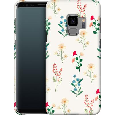 Samsung Galaxy S9 Smartphone Huelle - Leafy Green von Iisa Monttinen
