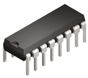 Toshiba , TLP620-4(GB,F) AC Input Transistor Output Quad Optocoupler, Through Hole, 16-Pin PDIP