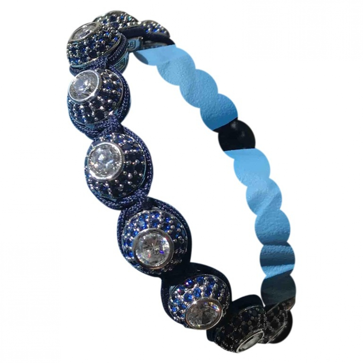 Nialaya \N Armband Blau