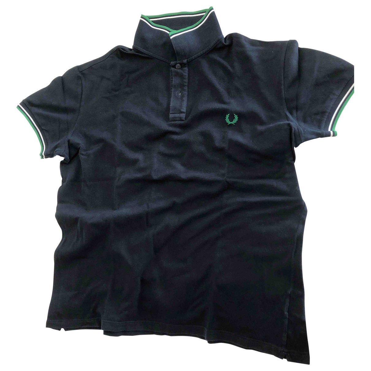 Fred Perry \N Blue Cotton Polo shirts for Men 48 IT