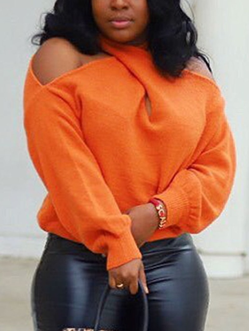 Ericdress Long Sleeve Regular Loose Women's Sweater
