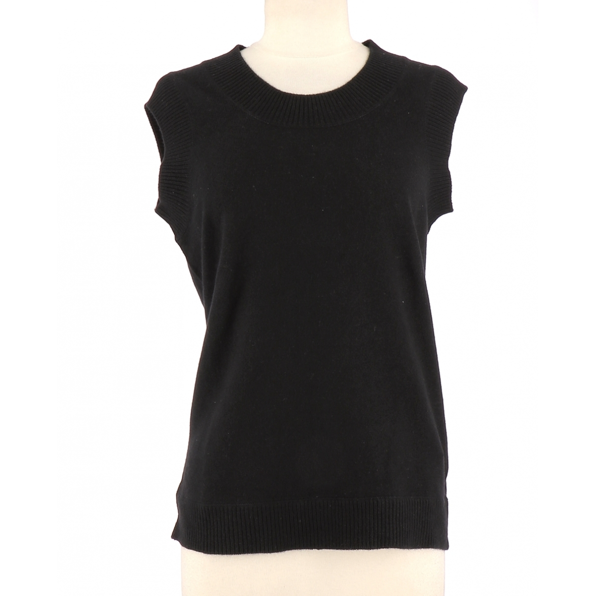 Eric Bompard \N Black Cashmere  top for Women 40 FR