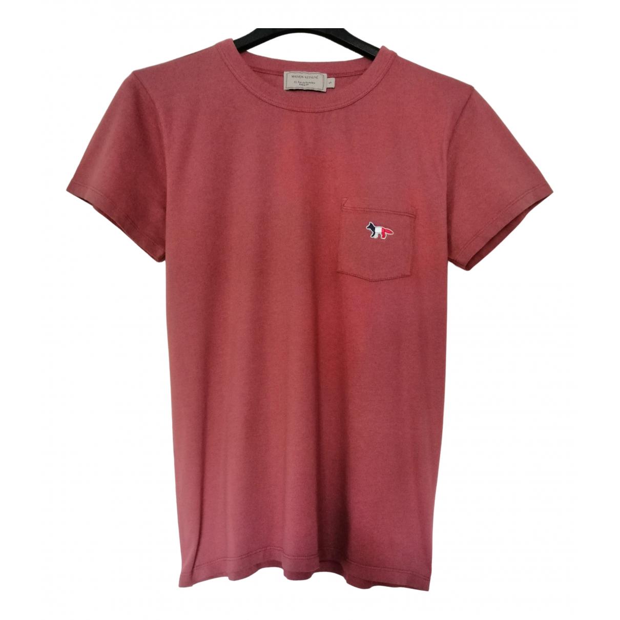 Maison Kitsune \N Red Cotton  top for Women S International