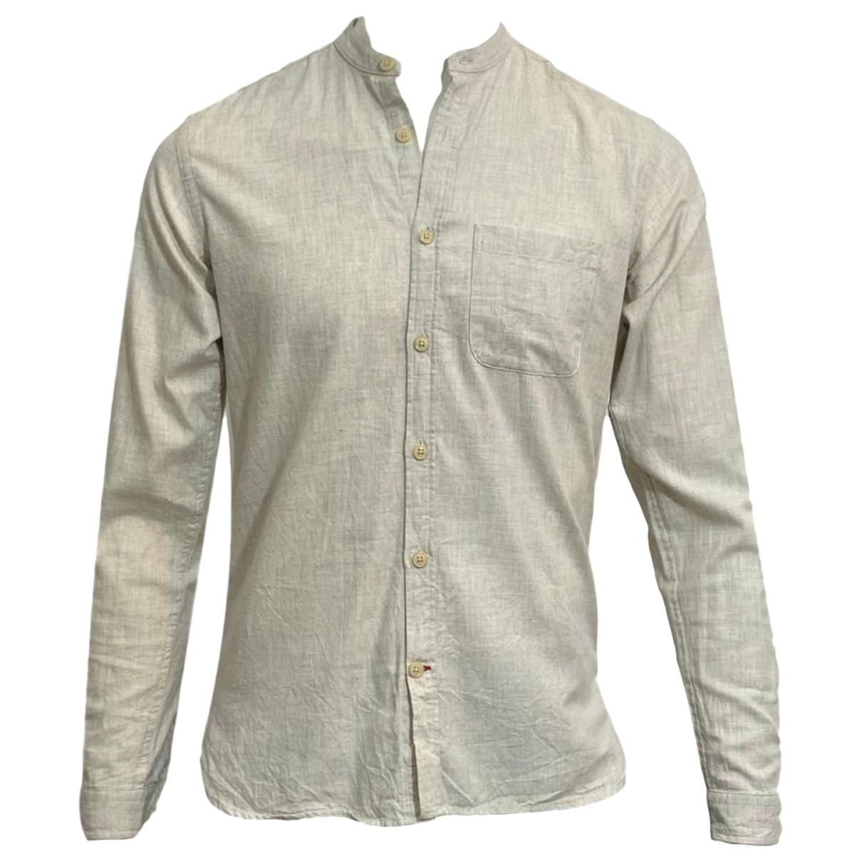 Oliver Spencer \N Hemden in  Beige Baumwolle