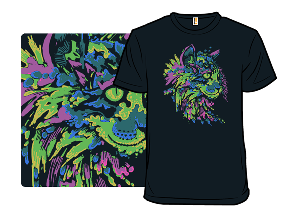 A Colorful Catsplosion T Shirt