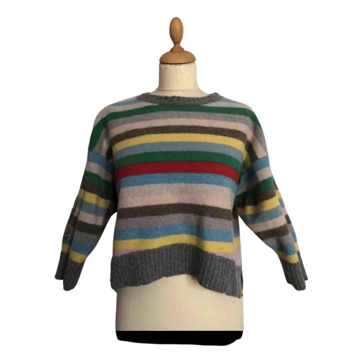Zadig & Voltaire - Pull   pour femme en laine - multicolore