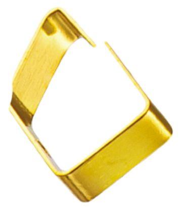 Wurth Elektronik 331221602040, Shielding Strip of Gold Plated Beryllium Copper With Mounting Screw 6mm x 2mm x 4mm (5)