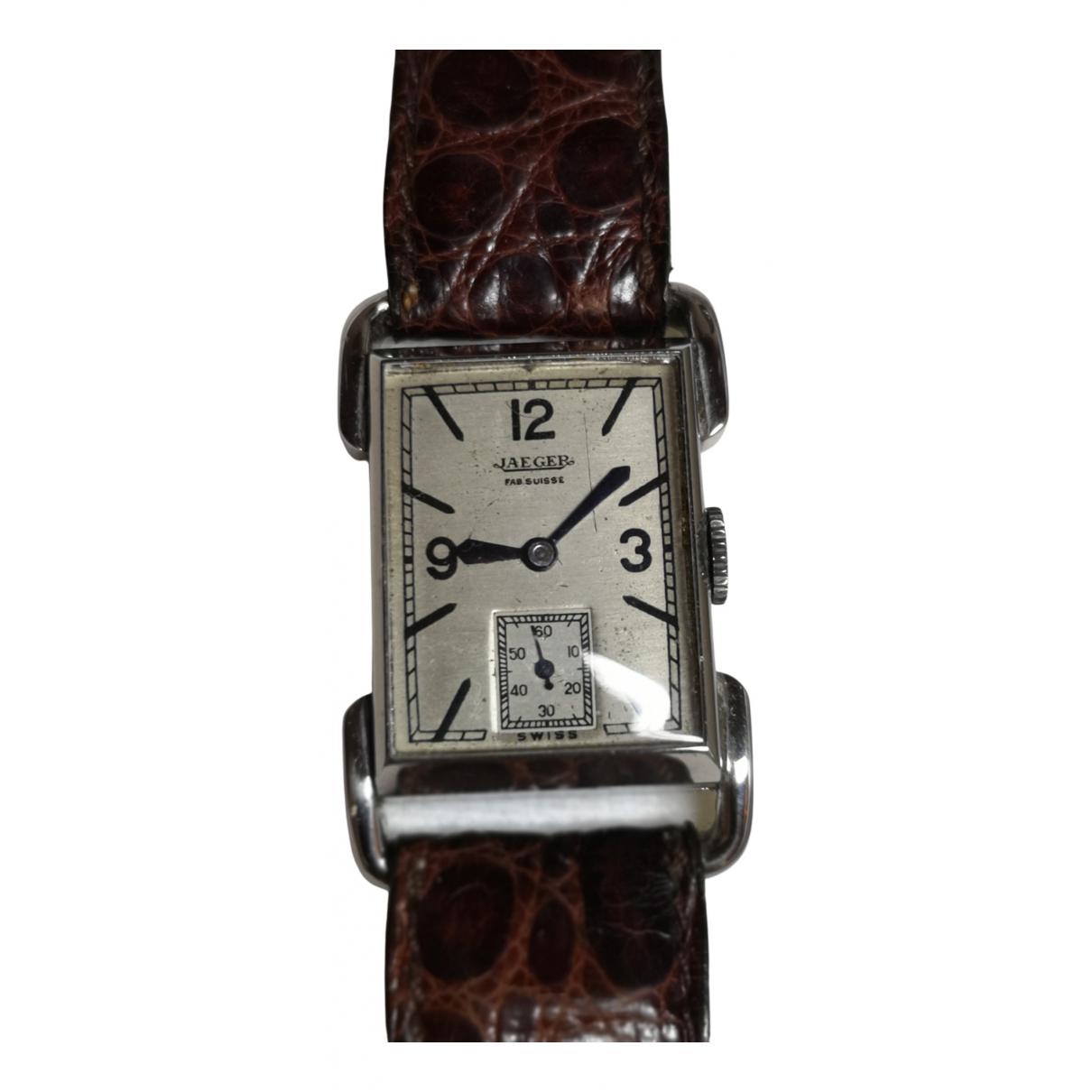 Jaeger \N Uhr in  Silber Stahl