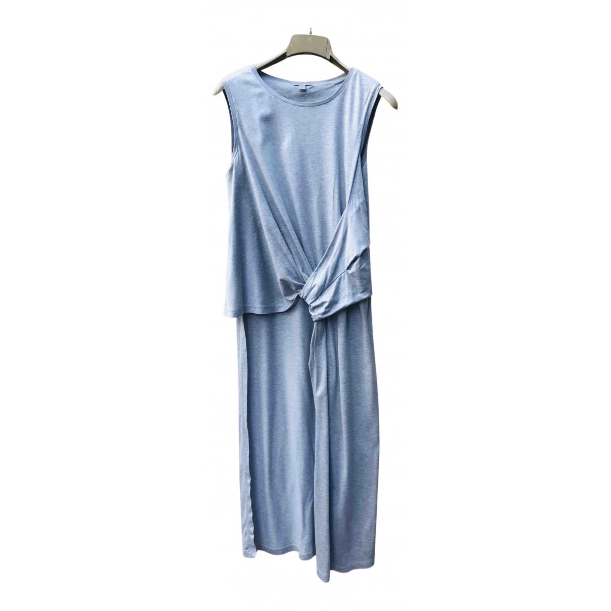 Cos - Top   pour femme en coton - gris
