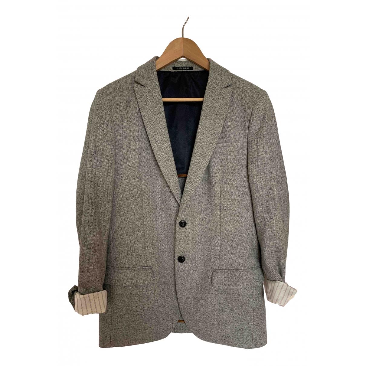 Scotch & Soda - Veste   pour femme en laine - gris