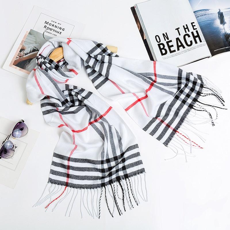 Ericdress Imitation Cashmere Fashion Color Block Scarves