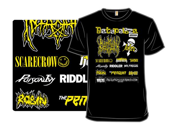 Batapalooza Arkham T Shirt