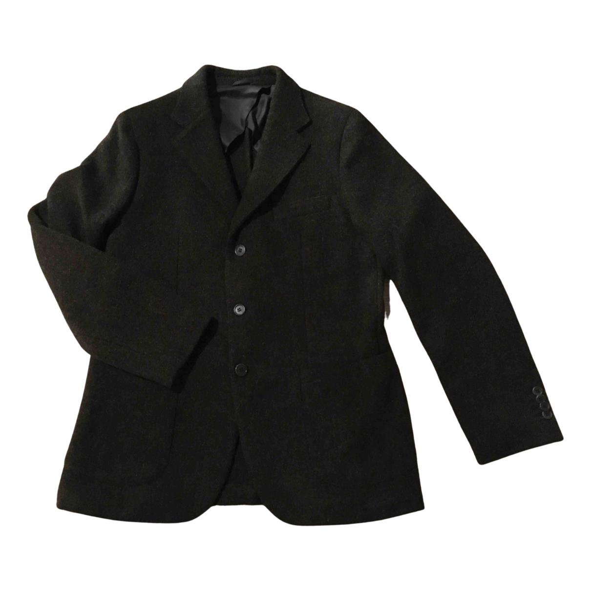 Aspesi - Vestes.Blousons   pour homme en laine - marron