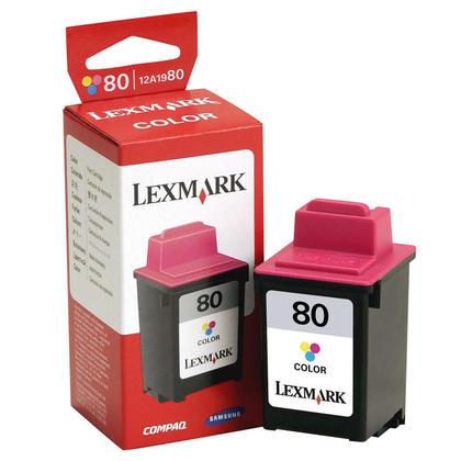 Lexmark NO.80 15M0923 12A1980 cartouche d'encre originale couleur