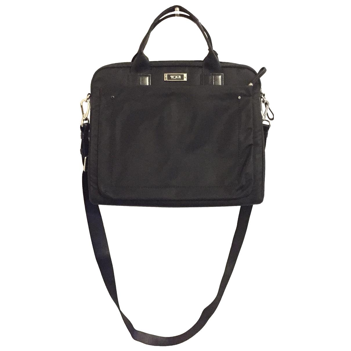Tumi \N Black Cloth Travel bag for Women \N