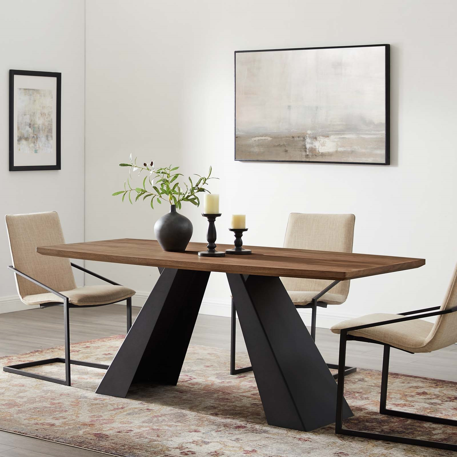 Elevate Dining Table in Walnut