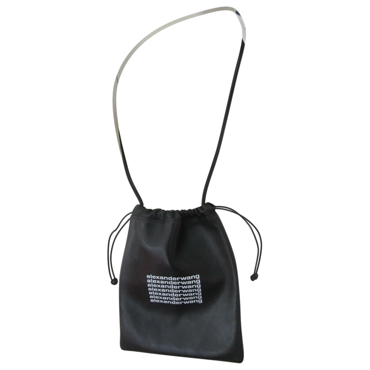 Alexander Wang \N Black Leather handbag for Women \N