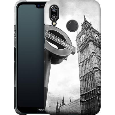 Huawei P20 Lite Smartphone Huelle - Big Ben & Underground von Ronya Galka