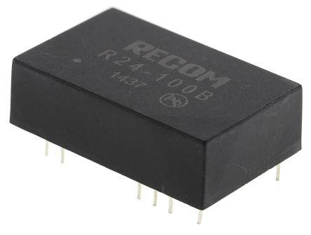 Recom 5W Isolated DC-DC Converter Through Hole, Voltage in 21 ? 27 V dc, Voltage out 55 ? 135V dc