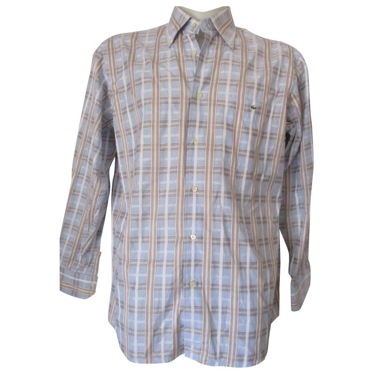 Lacoste \N Cotton Shirts for Men 42 EU (tour de cou / collar)