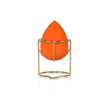 Mélangeur de maquillage avec support éponge, orange - LIVINGbasics™