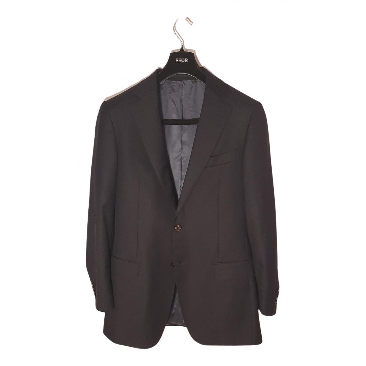 Suitsupply - Costumes   pour homme en laine - bleu