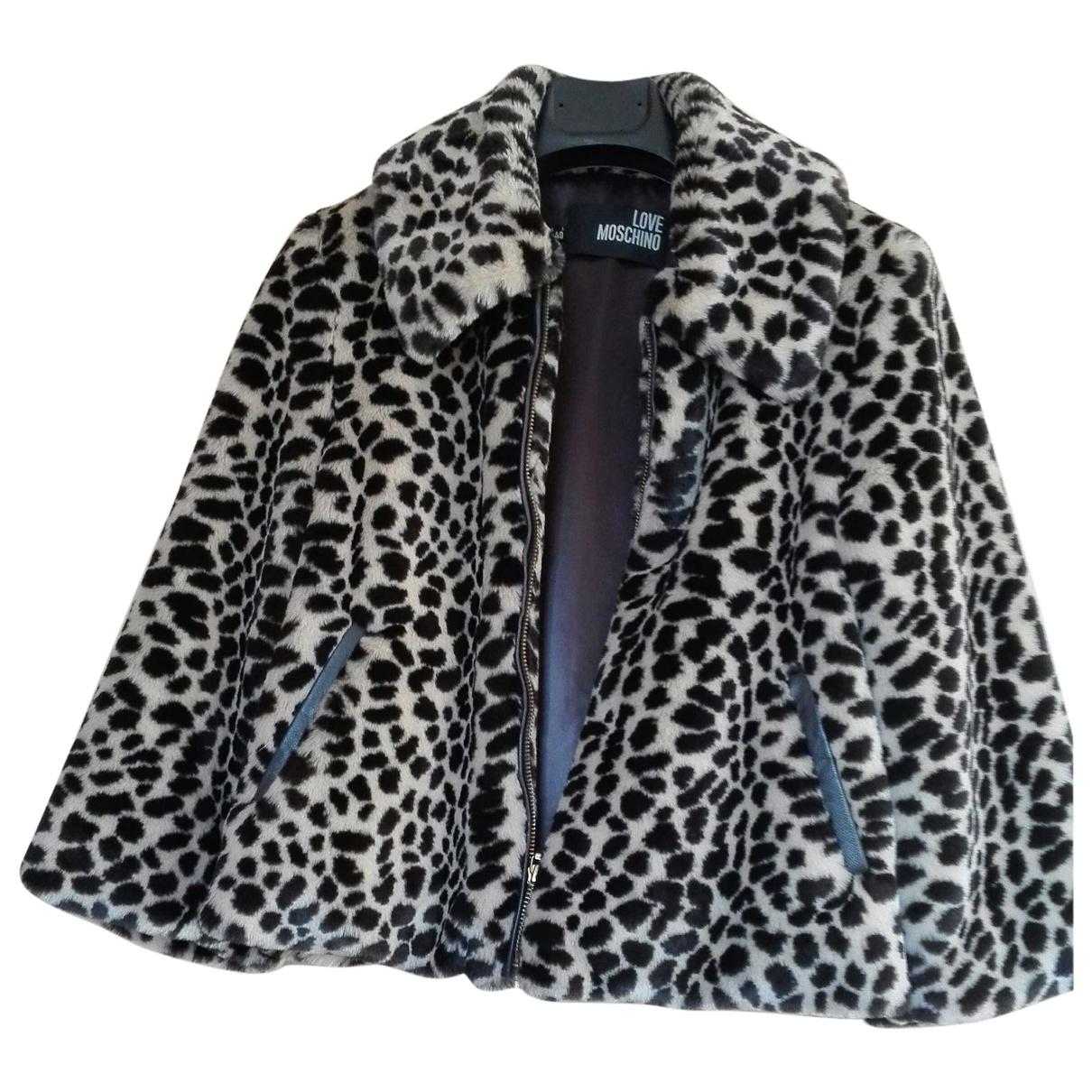 Moschino Love \N Beige Faux fur jacket for Women \N
