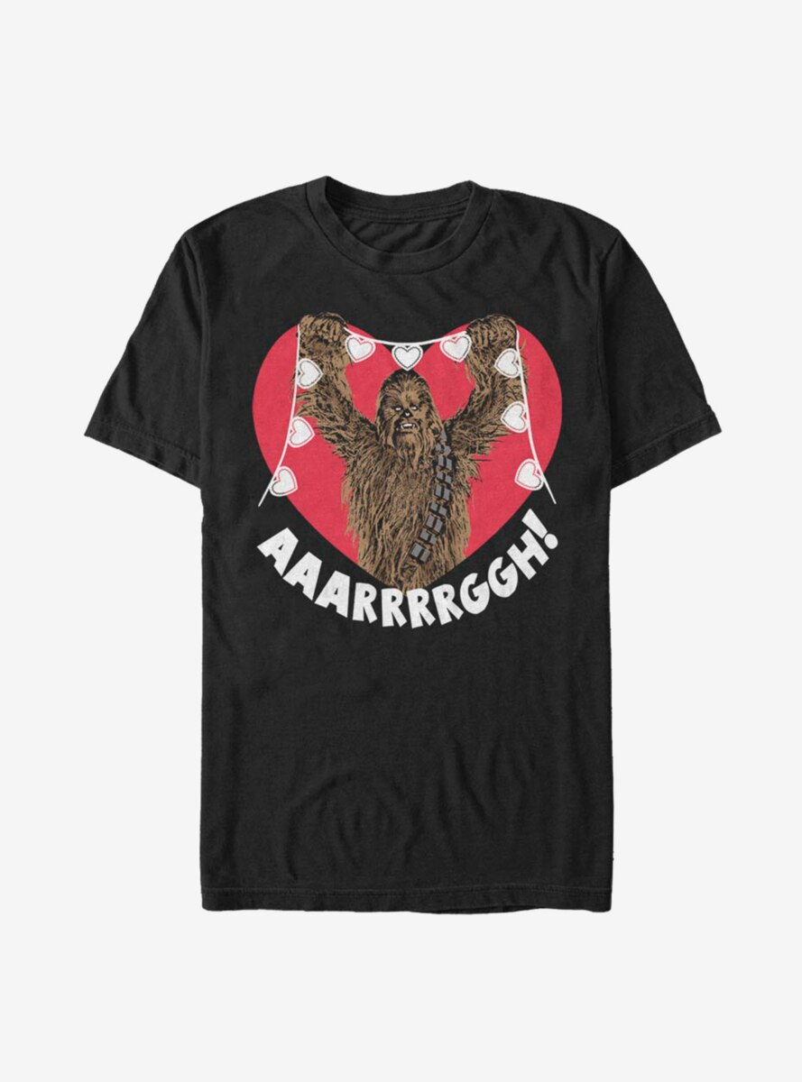 Star Wars Chewie Crafting Hearts T-Shirt