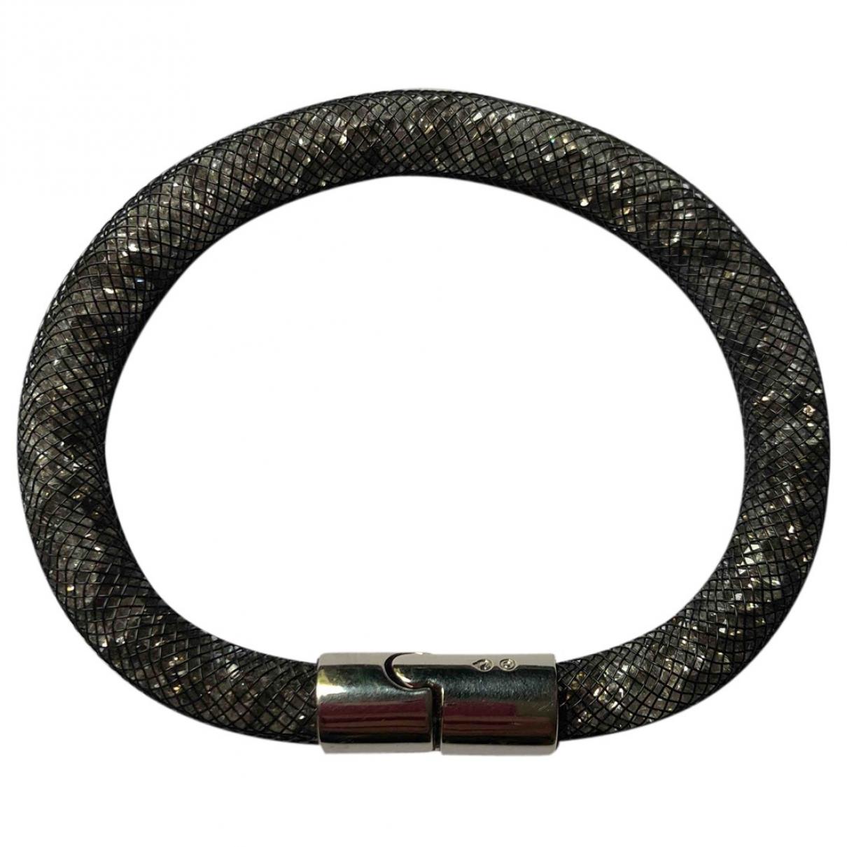 Swarovski - Bracelet Stardust pour femme en cristal - anthracite