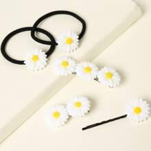 5 piezas accesorio de pelo de margarita