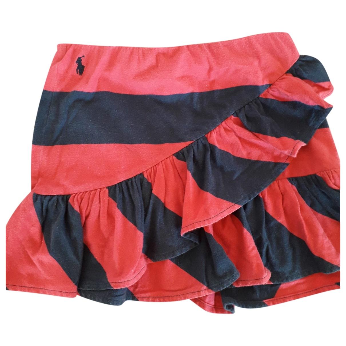 Ralph Lauren - Jupe   pour enfant en coton - multicolore