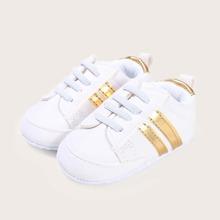 Baby Jungen Schuhe mit Streifen Detail