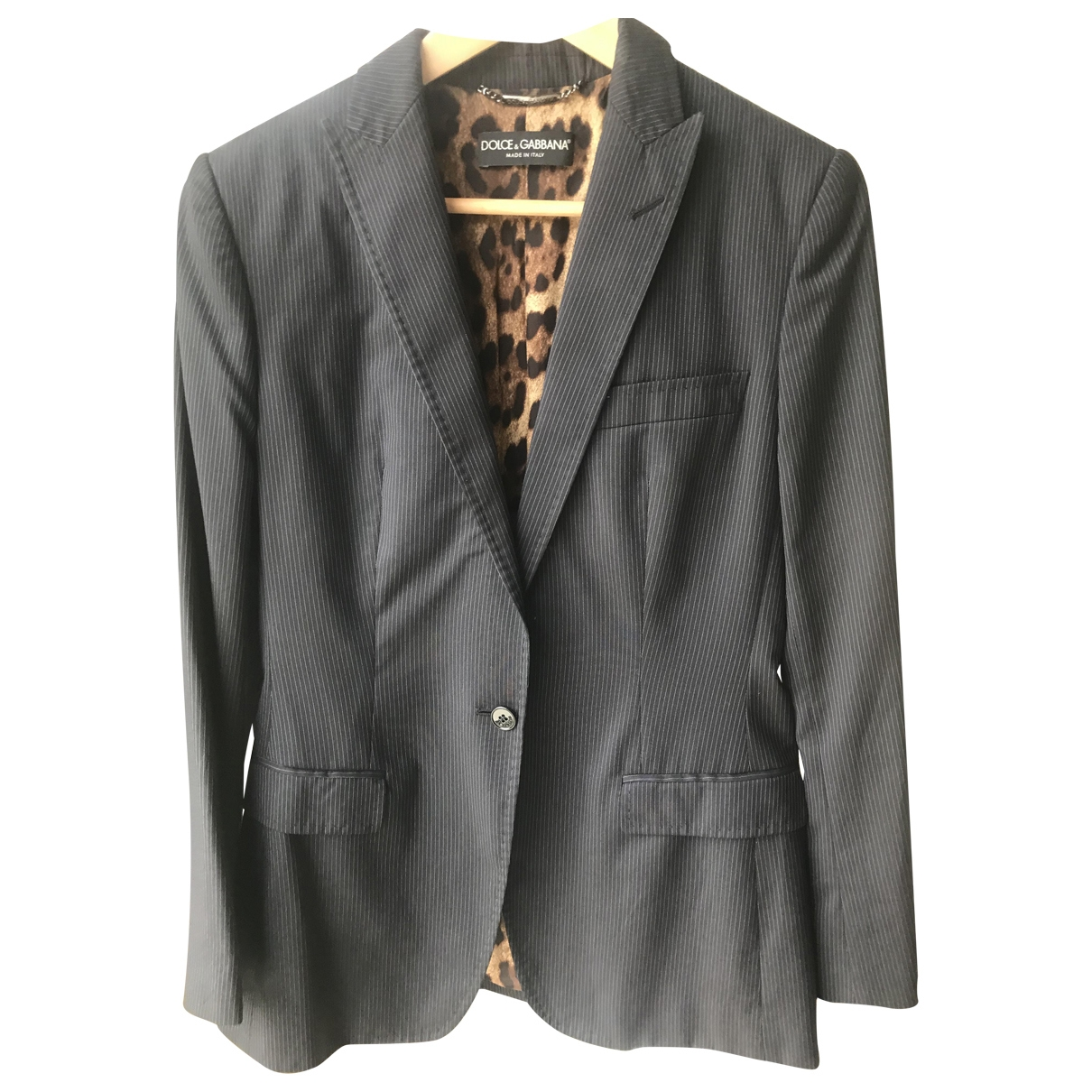 Dolce & Gabbana \N Anthracite Wool jacket for Women 44 IT