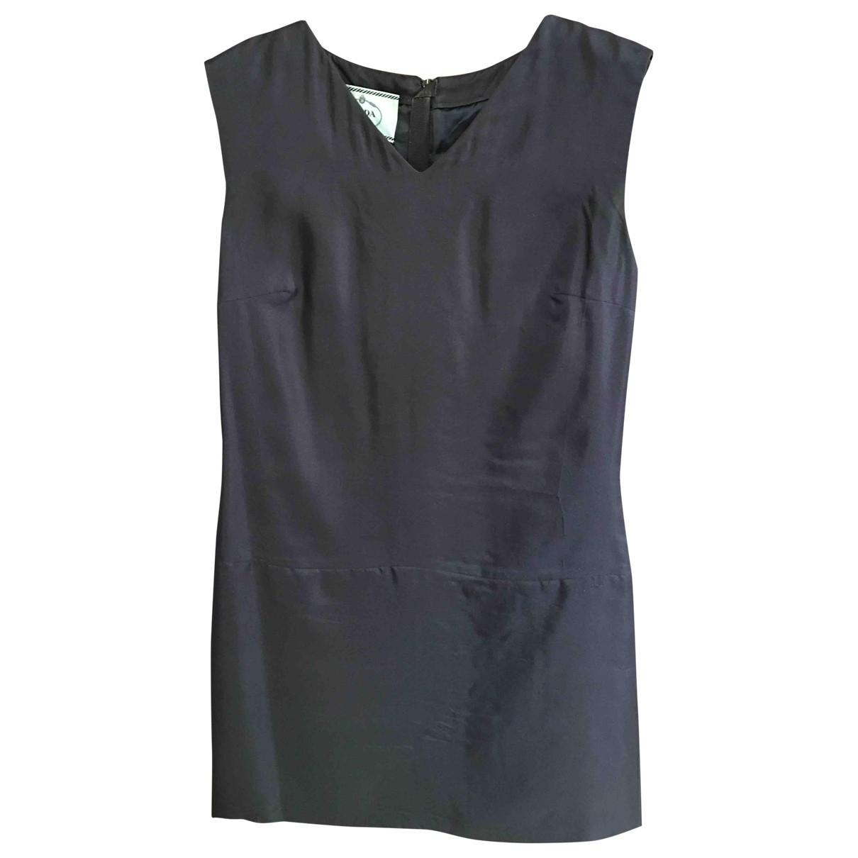 Mini vestido de Seda Prada
