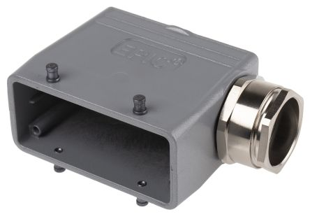 Epic Contact H-BE Series Connector Hood, Female, Male, 16 Way
