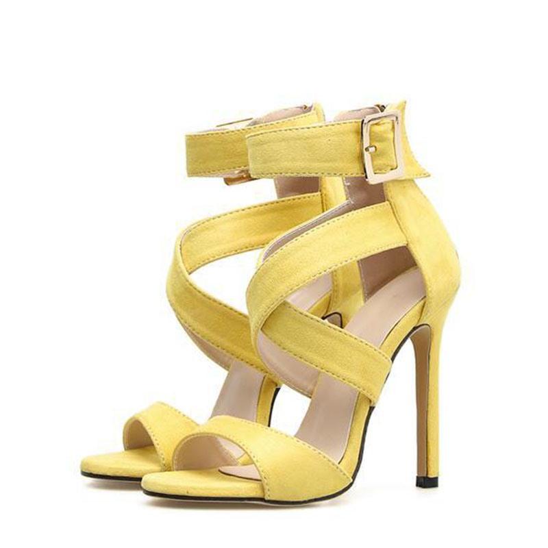 Ericdress Heel Covering Zipper Stiletto Heel Women's Sandals